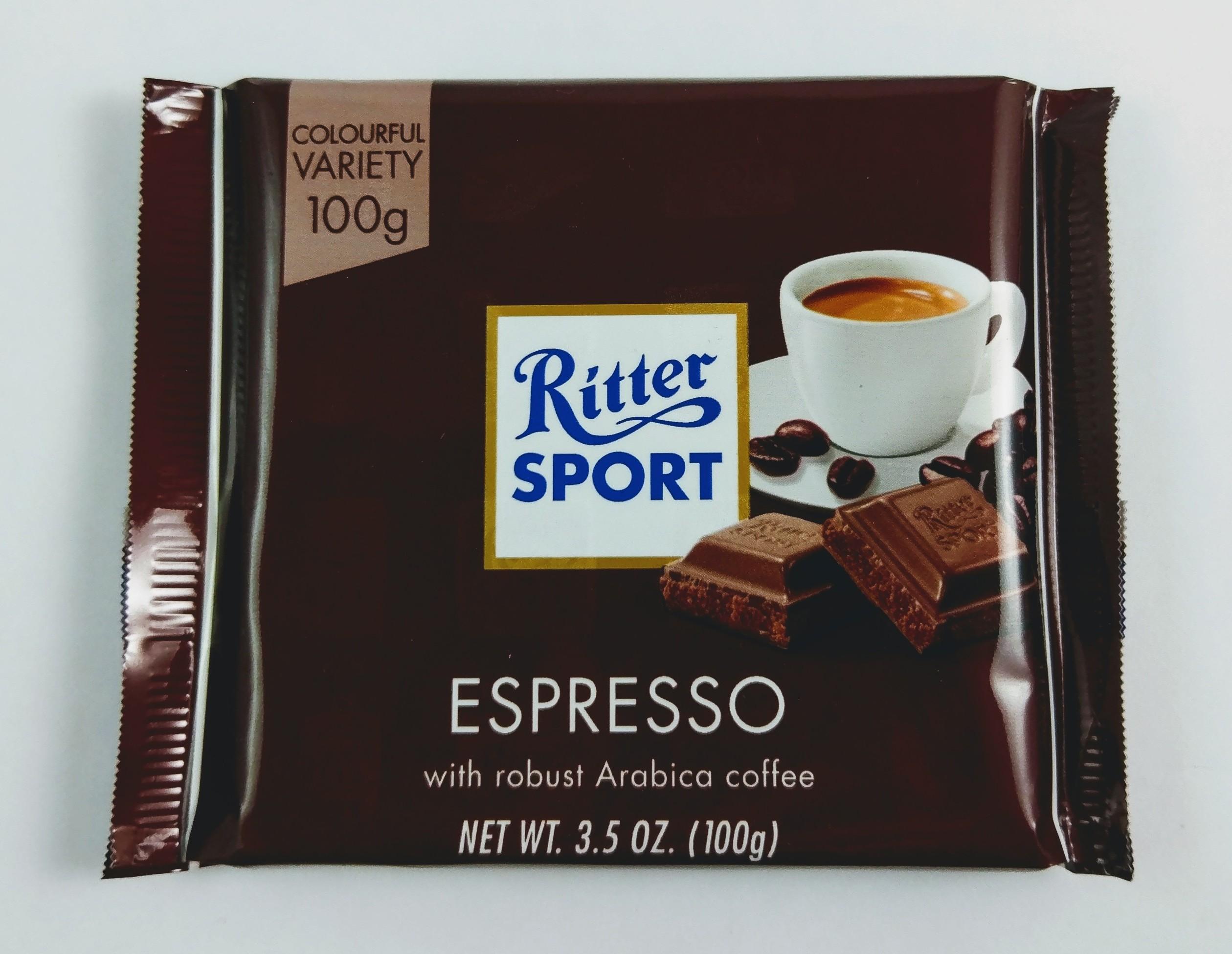 Ritter Sport Espresso chocolate bar