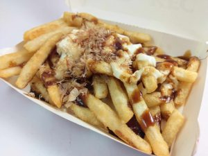 Bonito Fries that came with KFC Tori Katsu Burger Deluxe Meal