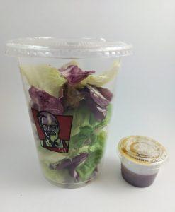 KFC Garden Salad with Soy Sesame Sauce