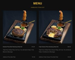 keisuke hamburg menu
