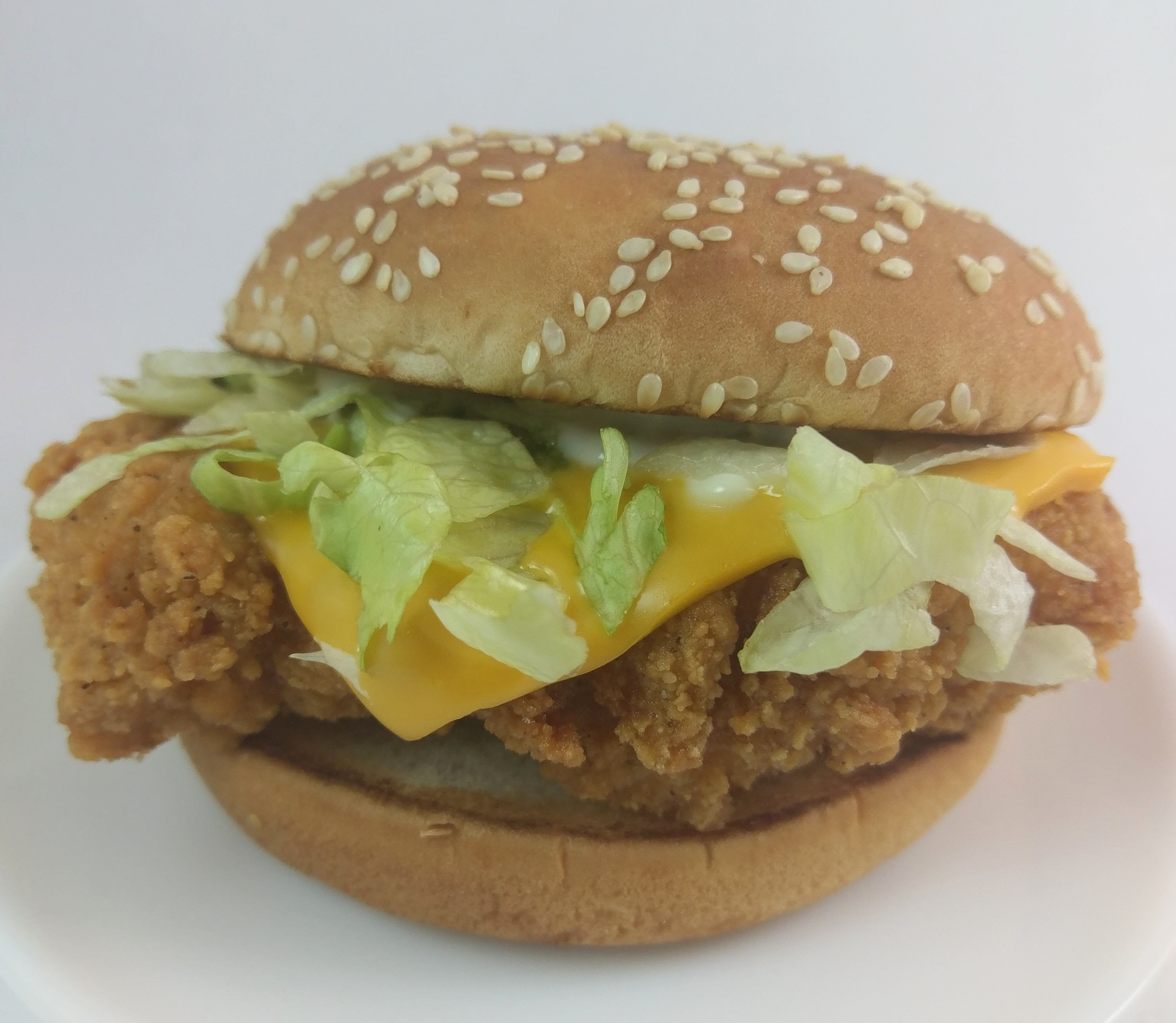 McSpicy with cheese